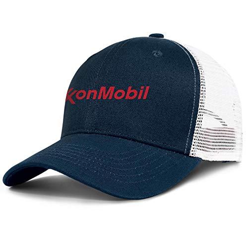 NAKHFBVi Unisex Smooth Baseball Cap Washed ExxonMobil-Logo- Biking Dad Hat