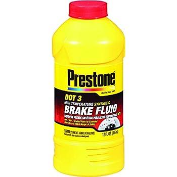 Prestone AS400 DOT 3 Synthetic Brake Fluid - 12 oz.