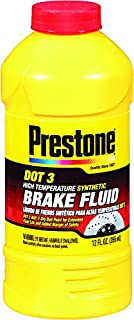 Prestone 12 Ounce AS400 DOT 3 Synthetic Brake Fluid-12 oz