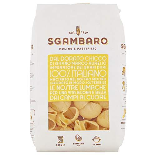 Pasta Sgambaro - Lumache N. 53 - 100% grano duro italiano - 500 gr