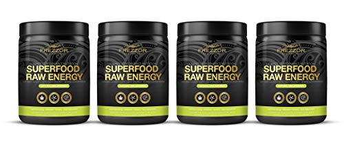 Hemp Protein Shake, 52 Superfoods & Antioxidants, Complete Protein Amino-Acids, Prebiotic & Probiotic, All-Natural & Certified, Raw Vegan Sports Performance & Recovery Nutrition Shake, 4 Pack