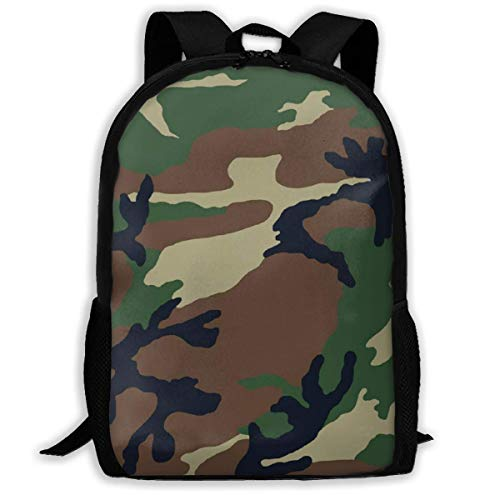 ADGBag Camo Fashion Outdoor Shoulders Bag Durable Travel Camping for Kids Backpacks Shoulder Bag Book Scholl Travel Backpack Sac à Dos pour Enfants