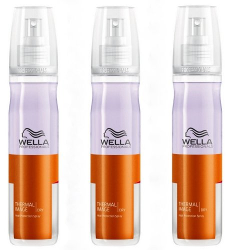 Wella Professionals Thermal Image Dry Hair Protection Spray 3 x 150ml