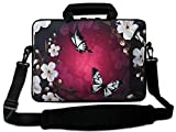"""Nice Butterfly 15"""" Laptop Shoulder Bag Case Sleeve + Pocket For 15.6"""" Dell Inspiron/HP Pavilion,15.6"""" Toshiba satellite L850-1RZ,14"""" 15.4"""" 15.5"""" 15.6"""" Laptop PC,15.4"""" 15.5"""" 15.6"""" Sony HP Dell Acer ASUS&#x 14 inch computer cases Nov, 2020"""