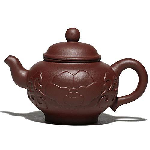 Hecha A Mano Zisha Tetera Purple Clay Teapot Handmade Purple Clay Teapot Tea Set