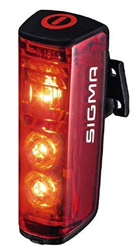 Sigma Sport Unisex– Erwachsene Sigma Blaze Rücklicht, schwarz, one Size