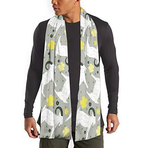 Billy Goat Fluff Scarfs – Imported Lightweight Neckwear Blanket Wrap Winter Shawl