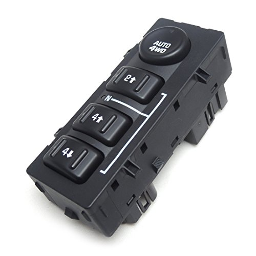 4WD Transfer Case Selector Switch for Chevy Silverado GMC Sierra 4 Wheel Drive Switch, 15136039 15164520 901-072