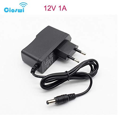 Pukido Cioswi DC Power Supply 9V 0.6A 12V 1A 2A 2.5A AC 220V To 12V Power Adapter Supply EU Plug Charger DC 9 V12 V Volt Power Supply - (Plug Type: 12V 2.5A)