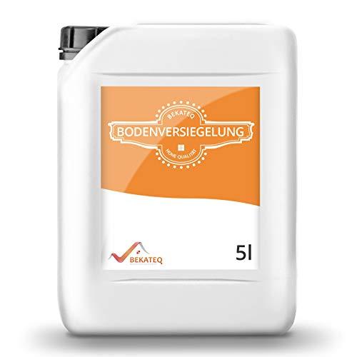 BEKATEQ Bodenversiegelung seidenmatt BK-250V für CV, PVC, Gummi, Linoleum - 5L