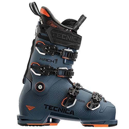 Tecnica Men's Mach1 MV Mid Volume 120 All-Mountain Ski Boots, Dark Avio, 28.5