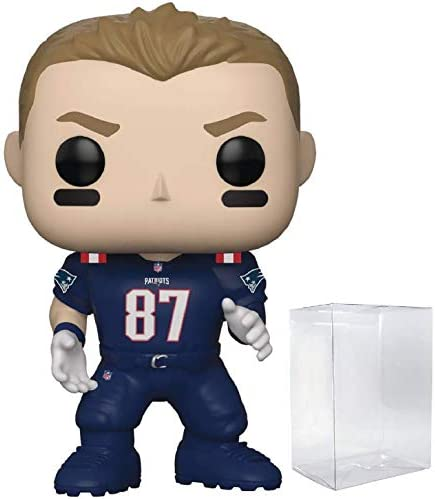 Funko NFL Rob Gronkowski New England Patriots Color Rush Pop Vinyl Figure Includes Compatible product image