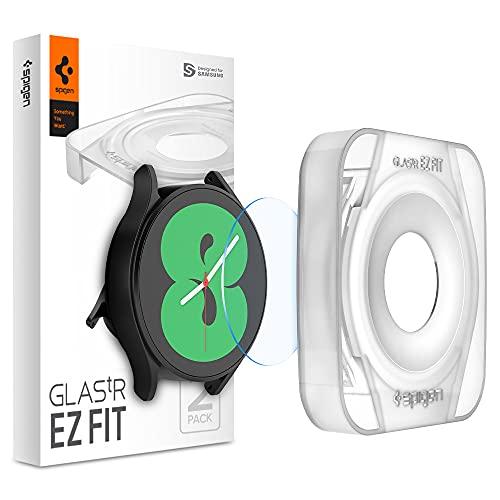 Spigen EZ Fit Protector Pantalla para Samsung Galaxy Watch 4 40mm - 2 Unidades