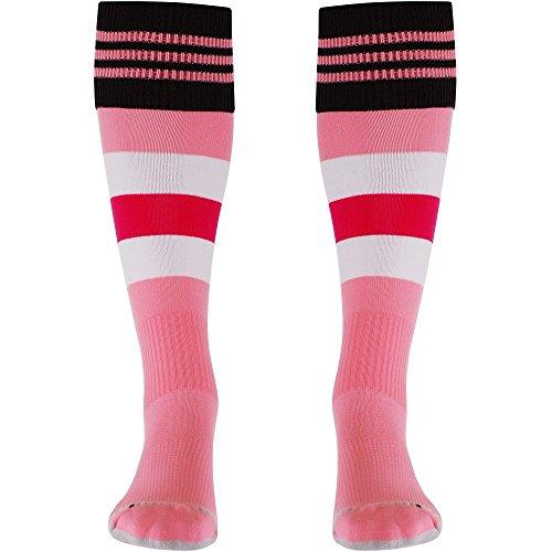 adidas 2015-2016 Juventus Away Football Socks (Pink)