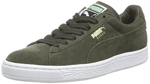 Puma Suede Classic +, Sneakers Basses homme, Gris (forest Night-white 65), 42