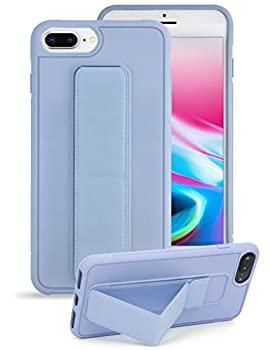 iPhone 7 Plus Case,Yoopake iPhone 8 Plus Case with Kickstand Hand Strap Holder Shockproof Heavyduty Phone Cover Case Supports Magnetic Car Mount,Blue