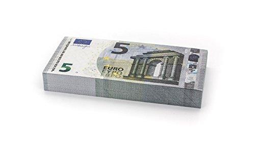 Cashbricks® 100 x €5 Euro Dinero de Juguete (reducidos al 75 % del tamaño Original)