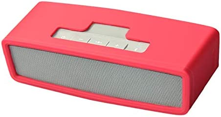 Oriolus Silicone Case for Bose Soundlink Mini 2 Mini Wireless Bluetooth Speaker Red product image