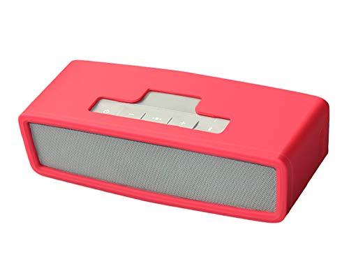 Oriolus Silicone Case for Bose Soundlink Mini 2 Mini Wireless Bluetooth Speaker (Red)