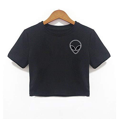 ZBBNZ T Shirt Vrouwen T-Shirt Vrouwelijke Harajuku Kawaii Wallace Graphic Tees Tops Vogue Crop Top