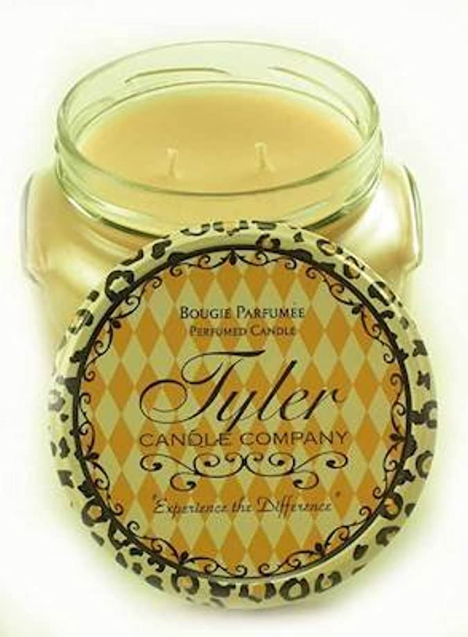 暴露するブレイズたらいENTITLED Tyler 22 oz Scented 2-Wick Jar Candle ENTITLED Tyler 22 oz Scented 2-Wick Jar Candle