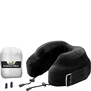 Cabeau Evolution Travel Neck Pillow in Memory Foam with Travel Pouch, Black (B004ZIDXK2) | Amazon price tracker / tracking, Amazon price history charts, Amazon price watches, Amazon price drop alerts