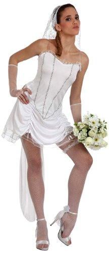 TOYLAND - Disfraz de novia sexy para mujer, talla M/L (10541)
