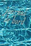 Journal de bord ligné, couverture eau, 110 pages: Carnet de notes, format 6' x 9' (15,24 cm x 22,86 cm)