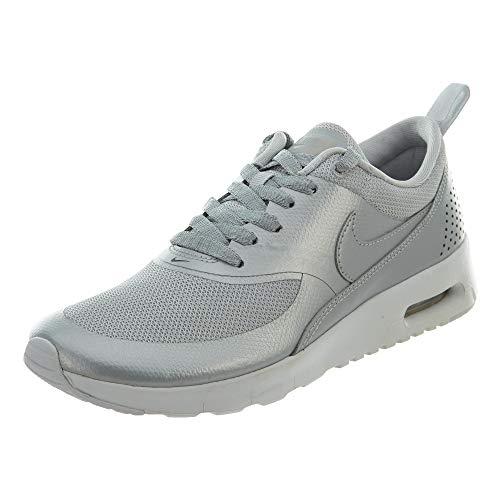 Nike Mädchen 820244-003 Traillaufschuhe, Grau MTLC Platinum, 36.5 EU