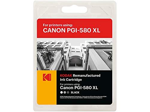 Kodak 185C058030 - Tinta Negra Compatible con Canon PGI-580XL (22 ml)