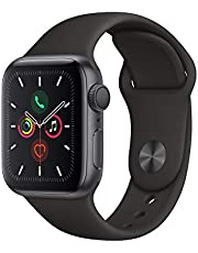 Apple Watch Series 5(GPSモデル)- 40mmスペースグレイアルミニウムケースとブラックスポーツバンド - S/M & M/L