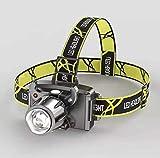 Faro de inducción LED para Exteriores, Tocado con Zoom Recargable de luz...