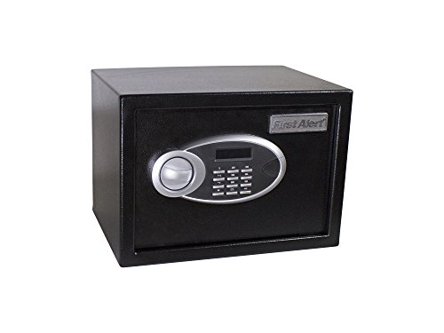 First Alert 4005DFB Anti-Theft Safe with Digital LOCK, .57 Cubic-Foot, Black
