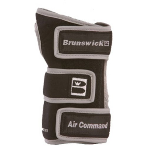 Brunswick Air Command Positioner - Guante de Bolos, Color Negro, Talla S