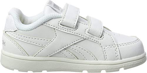 Reebok Royal Prime Alt Zapatillas de Gimnasia Niños, Blanco (White/Silver 000), 21 EU