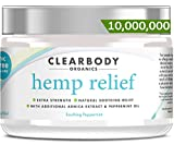 Hemp Pain Relief Cream- Made in USA Lab Tested Hemp Oil Formula for Arthritis, Back, Knee, Joint, Nerve & Muscle Pain, Inflammation with Natural Peppermint Oil, Arnica Extract & Aloe 2oz