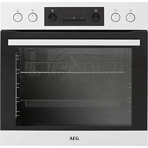 AEG HB3013WS31 Einbauherd-Set mit Glaskeramik-Kochfeld - Weiß