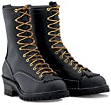 Wesco Highliner 10' Lineman Work Boot Black - 9710100