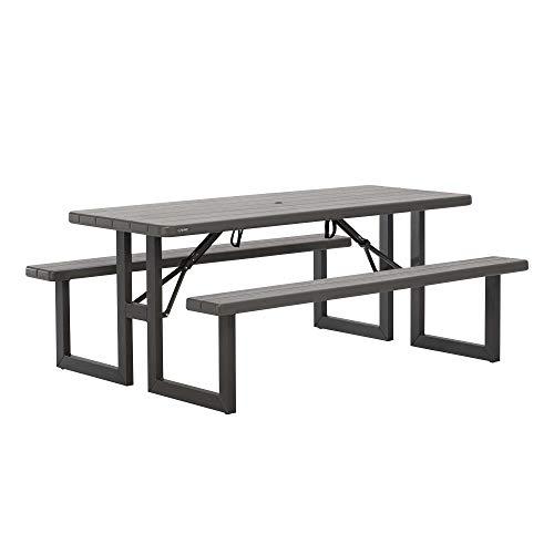 Lifetime Table Pique Nique rectangulaire 183cm