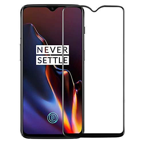 WOW Imagine Tempered Glass for OnePlus 6T (Transparent)-Edge to Edge Full Screen Coverage