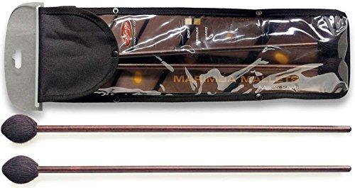 Stagg Marimba Mallet 15158 42 cm 16 inch met harde wol verpakte kop (Pak van 2)