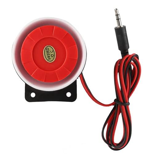 Mini Sirena, Alarma De Super Tweeter Independiente, Sirena, Bocina, Función Automática, Detección De Estado para El Sistema De Alarma De Seguridad del Hogar para Interiores