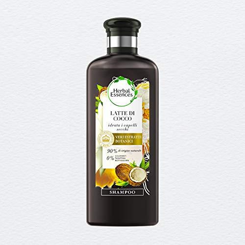 Herbal Essences Shampoo Latte di cocco idratante 250ml, In Collaborazione Con i Giardini Botanici Reali di Kew