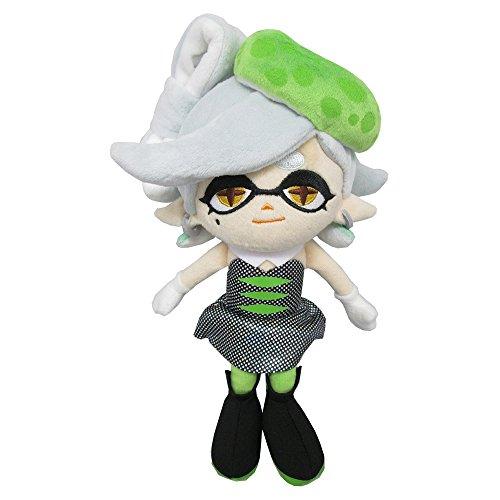 Sanei SP04 Splatoon Series Marie Green Squid Sister Stuffed Plush, 9.5'