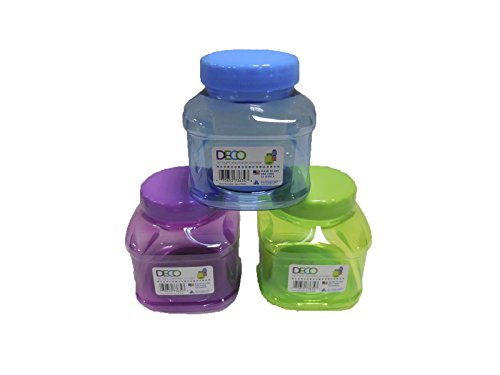 Arrow Home Products Decorative Stackable Storage, 32 oz, Multicolor