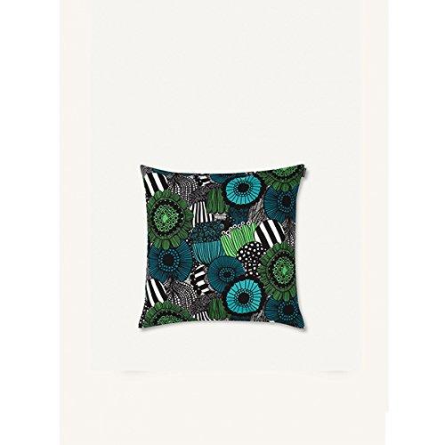 Marimekko - Kissenbezug - Siirtolapuut - Baumwolle - weiß/grün - 50 x 50 cm