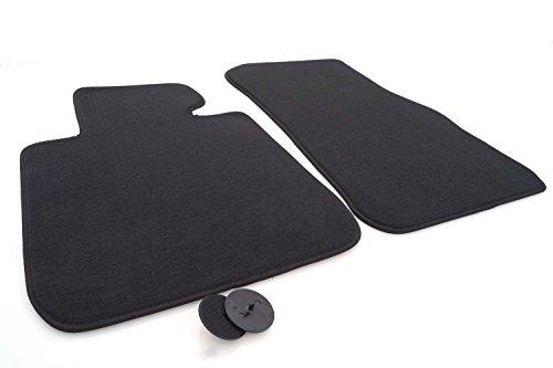 kh Teile Fußmatten 1er F20 F21 F22 Velours Automatten Original Qualität 2-teilig schwarz, Passgenau