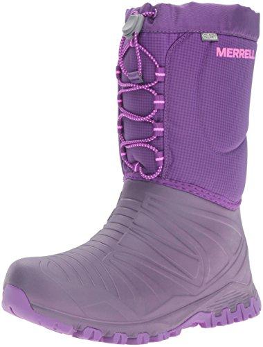 Merrell Snow Quest, Chaussures de Randonnée Hautes Fille, Rose (Berry), 38 EU
