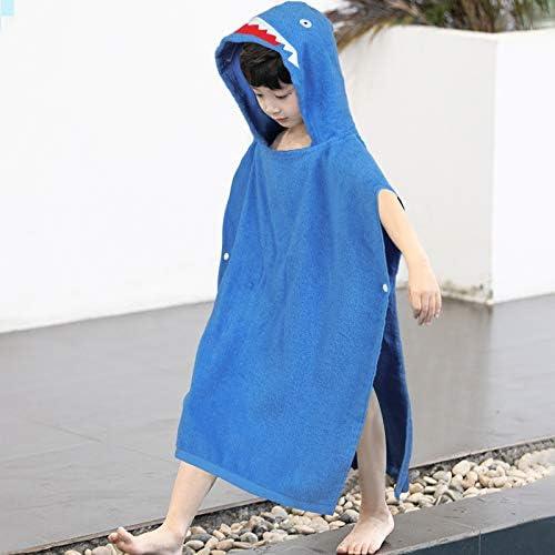 100 Cotton Cartoon Children Hooded Beach Towel Wrap Cute Kids Bath Towel Soft Hooded Beach Towel product image