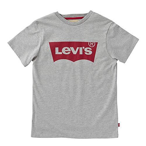 Levi's Kids Jungen Ss-Tee Nos T-Shirt, Grau - Grey (Grey Chine), 86 (Herstellergröße: 2A)